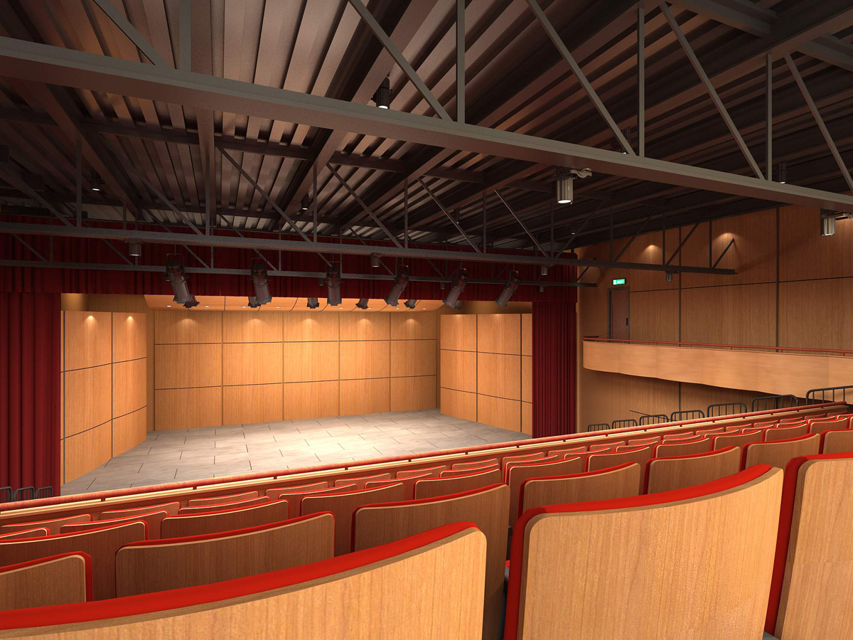 Theatre interior 2 to stage